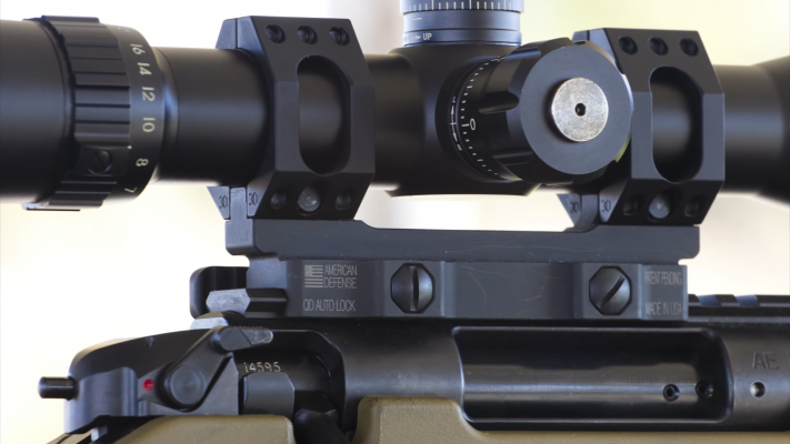 Bushnell Elite Tactical 6-24x50 Rifle Scope turrets