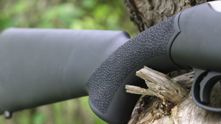 Hogue Rubber Overmolded Stock grip