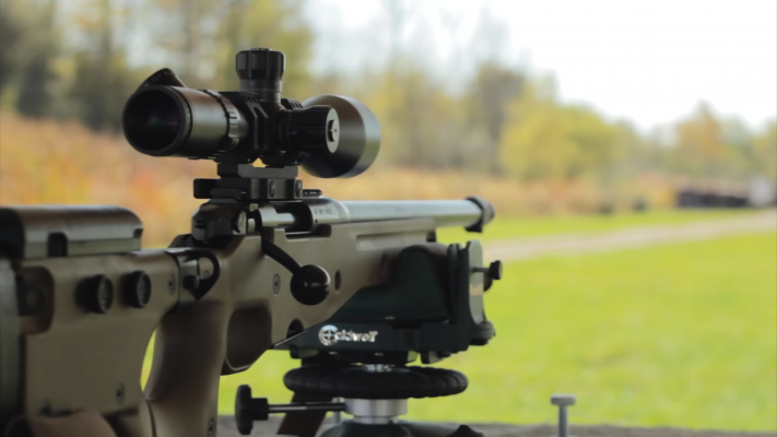 Bushnell Elite Tactical 6-24x50 Rifle Scope