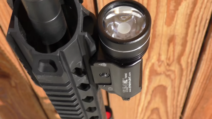 Streamlight TLR-1. rifle