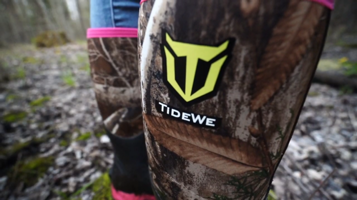 TIDEWE Rubber Outdoor Hunting Boots Comfortability