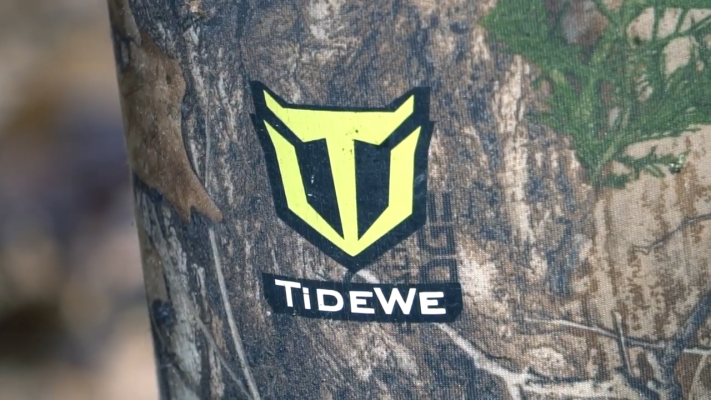 TIDEWE Rubber Outdoor Hunting Boots Logo