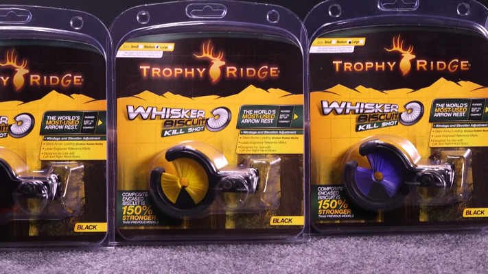 Trophy Ridge Bowfishing Whisker Biscuit Arrow Rest in Boxes