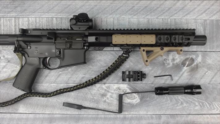 AR-15 Flashlight