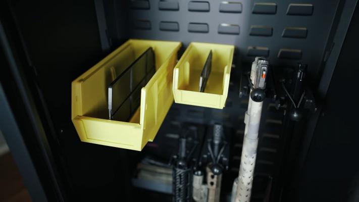 SecureIt Agile Model 52 Safe Interior with Panels