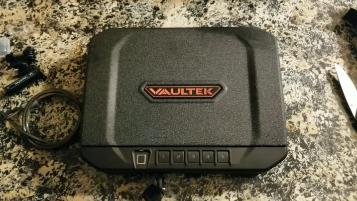 Vaultek VT20i Powder Coat Finish
