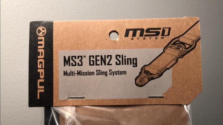 Magpul MS3 Single QD GEN 2 Multi-Mission Sling